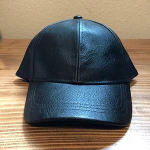 H&M Faux Leather Hat